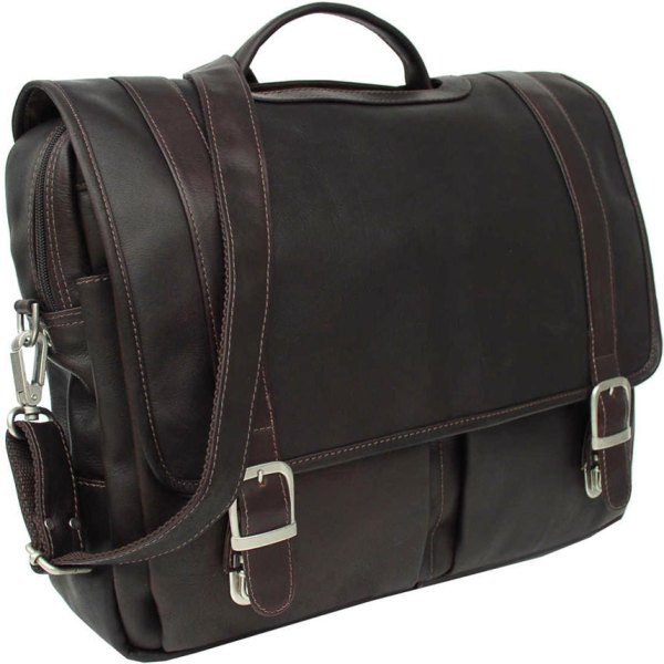 Oversized Leather Portfolio Case In Laptop Bags And Sleeves